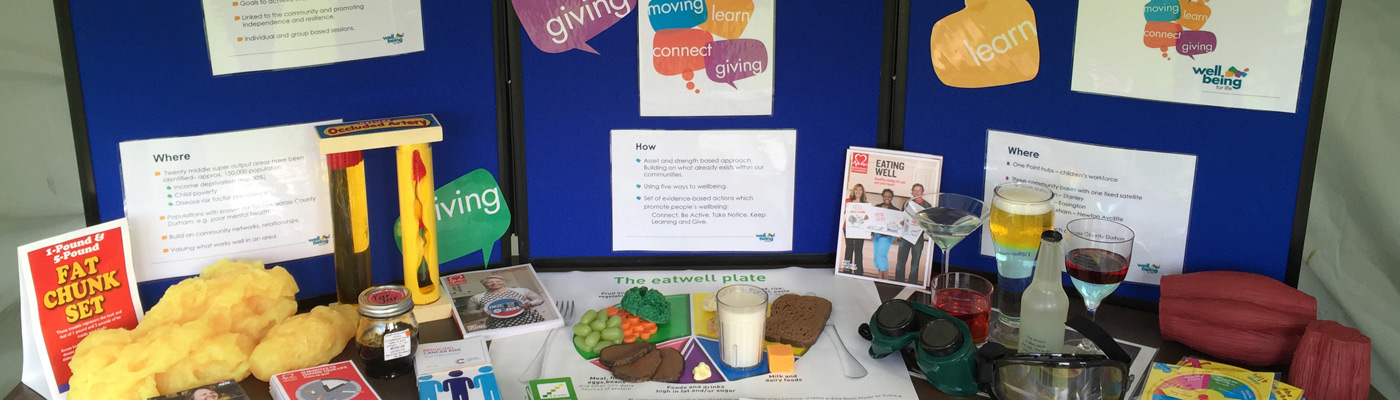 FREE service supporting you to live well in County Durham